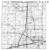 Somonauk - Sandwich Township, DeKalb County 1947